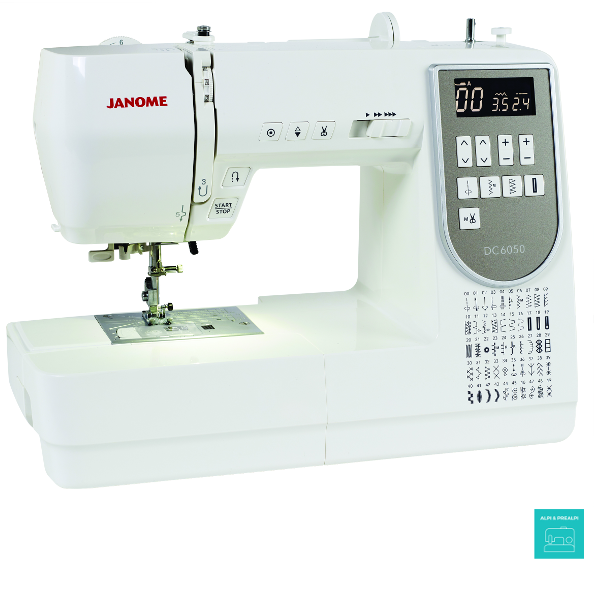 macchina per cucire elettronica Janome DC 6050